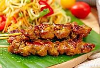 泰式鸡肉串|浓郁香甜的做法