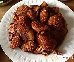 古法墨鱼烧肉的做法