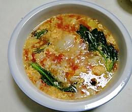 美味鸡蛋西红柿疙瘩汤的做法