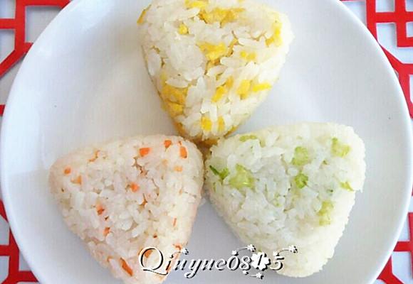 彩色米饭的做法