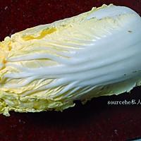 开胃酸辣大白菜的做法图解1