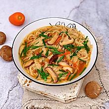 #肉食者联盟#香菇肉沫汤面