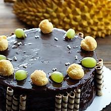 巧克力榴莲蛋糕