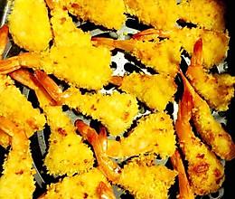 空气炸锅做凤尾虾的做法
