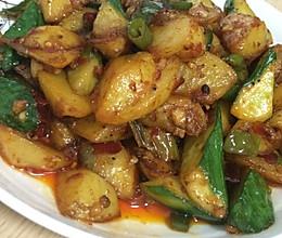 青瓜土豆块的做法