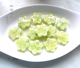 简单祛暑小菜--蜂蜜黄瓜的做法
