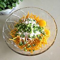 南瓜鸡蛋饼#春天不减肥,夏天肉堆堆#的做法图解2