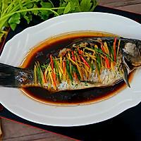 健康饮食----清蒸鲫鱼的做法图解12