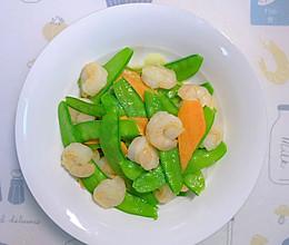 【家常菜】荷兰豆炒虾仁的做法