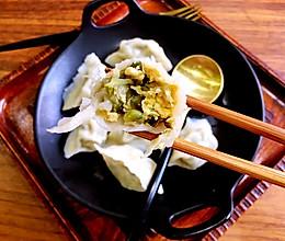 槐花鸡蛋馅饺子的做法