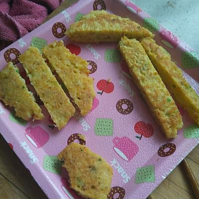 宝宝辅食(鳕鱼鸡蛋饼)