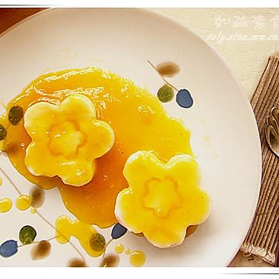 橙汁山药泥