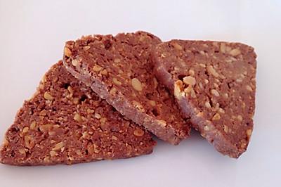 巧克力松仁饼干