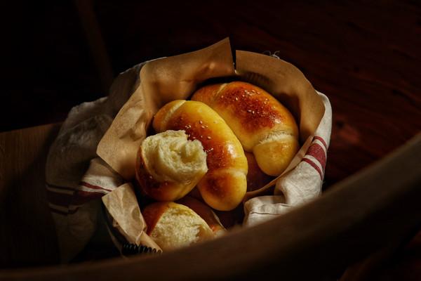 日式海盐面包的做法