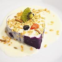 """紫薯酸奶燕麦塔#""""宴""""遇灵山 拈花品素#的做法图解8"""