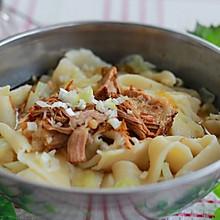 腊汁肉biangbiang面——正宗陕味。