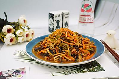 #母亲节,给妈妈做道菜#鱼香肉丝-超下饭的菜