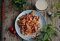 高蛋白低脂餐——孜然鸡肉配脱脂奶。的做法