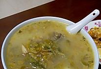 """雪菜""""大黄鱼""""汤的做法"""