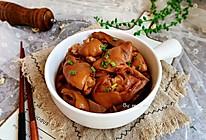 莲藕焖猪蹄#做道懒人菜,轻松享假期#的做法