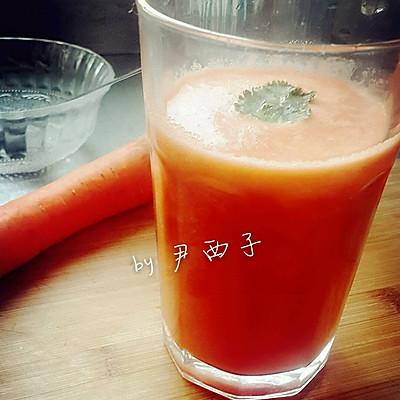 【胡萝卜苹果汁】减肥果汁第一弹