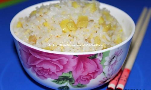 红薯小米饭的做法