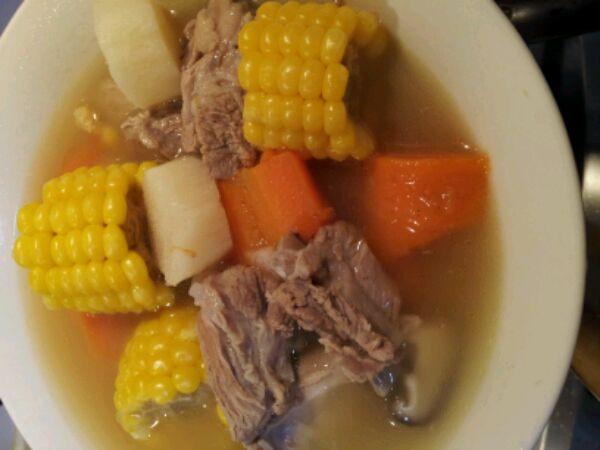营养排骨汤的做法