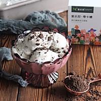 #爱乐甜夏日轻脂甜蜜#零卡糖无冰渣牛奶奥利奥冰淇淋的做法图解12