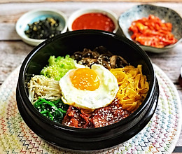 韩式五花肉拌饭的做法