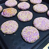 紫薯糯米饼的做法图解6