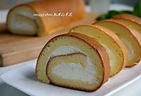 奶油戚风蛋糕卷#豆果5周年#的做法