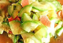 白瓜片炒香肠的做法