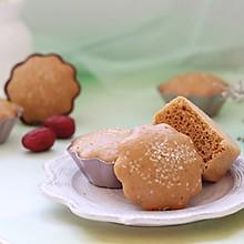 红糖红枣蒸糕(酵母版)