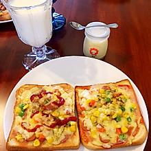 早餐吐司披萨(超简单)
