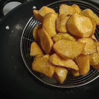 拔丝红薯的作法流程详解4