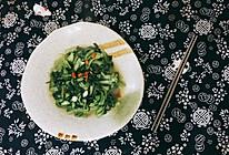 清炒鸡毛菜的做法