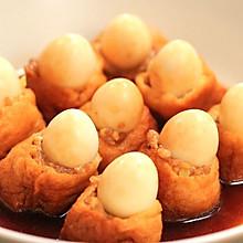 油豆腐鹌鹑蛋酿肉