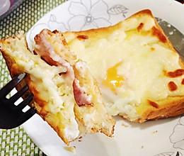 「完美早餐、早午餐」法式热三明治的做法