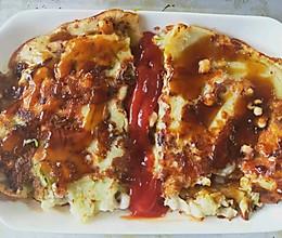 简易美味:大阪烧+章鱼烧的做法