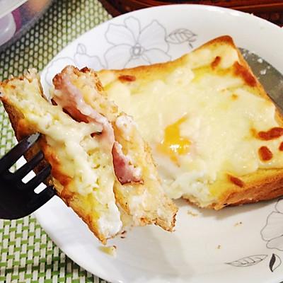 「完美早餐、早午餐」法式热三明治