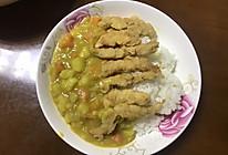咖喱鸡柳饭的做法