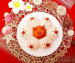 萌猪报春馍馍#精品菜谱挑战赛#的做法