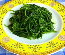 清炒豌豆尖的做法