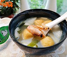 汤品类:快手的萝卜海鲜汤,用处多得很的做法