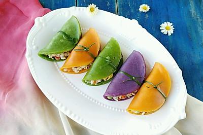什锦米饭可丽饼#爱的暖胃季-美的智能破壁料理机#