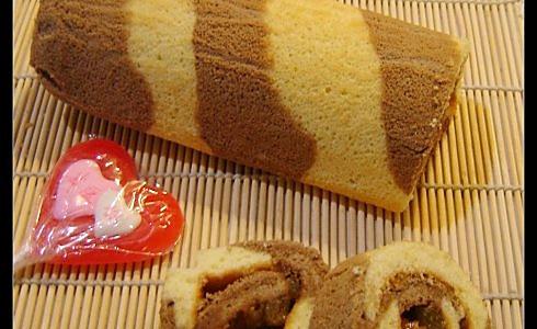 双色蛋糕卷的做法