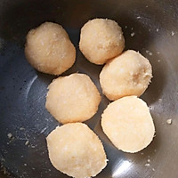 心形椰蓉面包#520,美食撩动TA的心!#的做法图解2