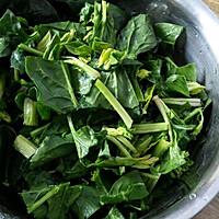 之菠菜豆腐盒子#利仁电饼铛试用#的做法图解3