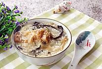 广式养胃下火粥-菜干烧猪骨小米粥的做法