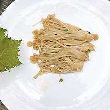 金针菇#520,美食撩动TA的心!# 烤金针菇
